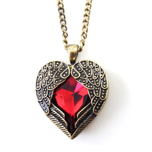 Angel's Loving Heart Necklace - Prime Printing by MSM