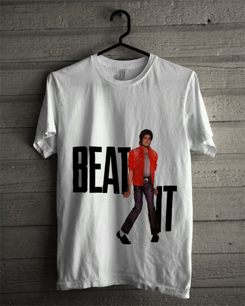 Michael Jackson Beat It T-shirt (Men's) - Prime Printing by MSM