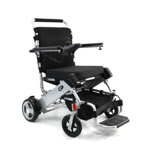 separation shoes 8ca2c 71064 Tranzit GO Foldable Lightweight Power Wheelchair - Silver - Power Wheelchair