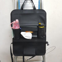 Waterproofing Car Seat Back Organizer Storage Bag