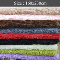 Big Fur Carpet - Many Colours 160x230cm