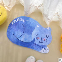 Large Cat Kitty Floor Mat 60*90cm