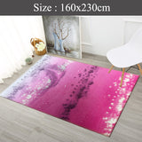 Big Velvet feel Rugs Design ( B )