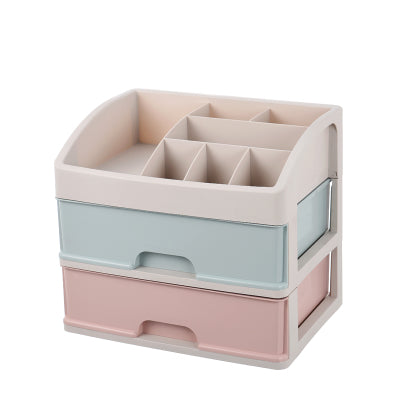 SB2 A - 2 Layer Storage Box / Shelf Organiser / Bathroom Make up drawer
