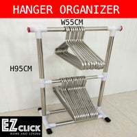 Double layer hanger holder
