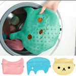 Laundry cartoon washing bag