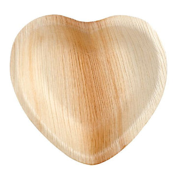 Areca Leaf Bowl Heart Shape (100% Bio-degradable)