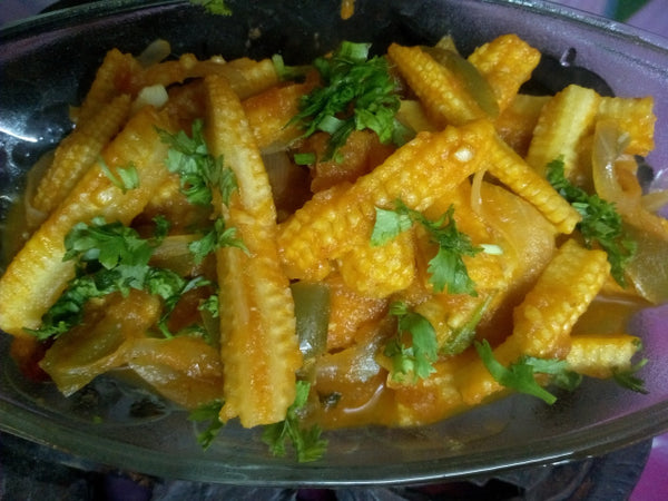 Organic Baby Corn Curry Mix