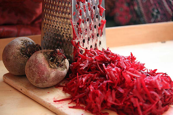 Organic Grated Beetroot