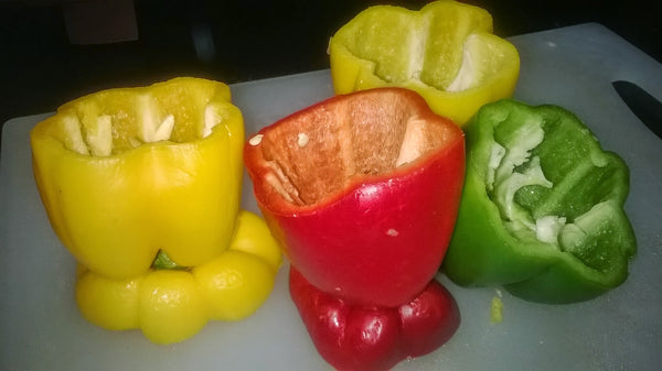 Organic Bell Pepper For Stuffing (Mixed)