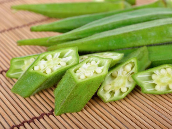 Organic Okra /Lady's Finger Diced
