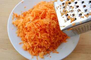 Organic Carrot Grated