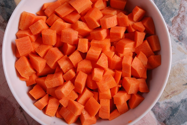 Organic Carrot Diced