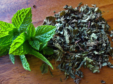 Organic Dried Peppermint*