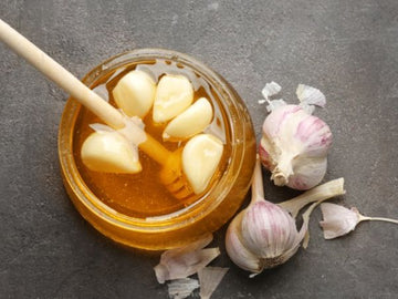 Organic Garlic & Honey*