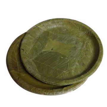 Sal Leaf Plates (100% Bio-degradable)
