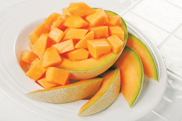 Organic Muskmelon Slices