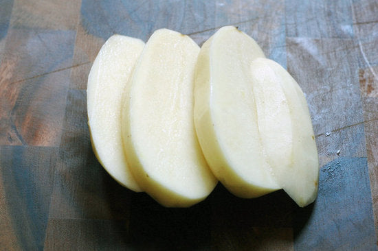 Organic Potato Sliced (Long)