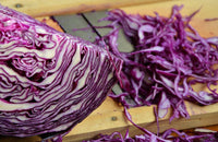 Organic Shredded Red Cabbage