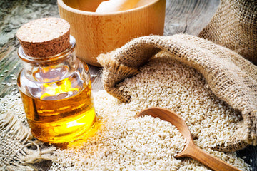 Organic Sesame Oil (Cold Pressed)*