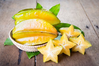 Organic Star Fruit Slices
