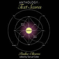 Anthology of Text Scores by Pauline Oliveros