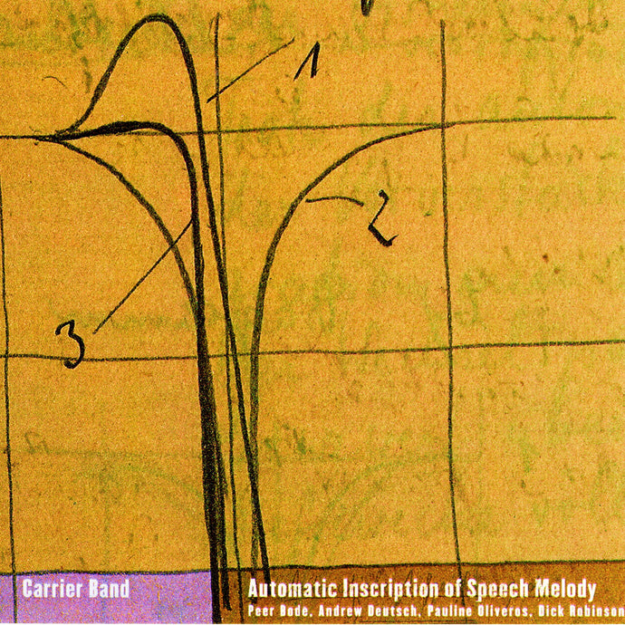 Carrier Band - Automatic Inscription Of Speech Melody