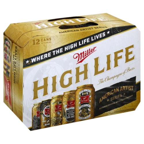 MILLER HIGH LIFE 12 Pack CANS