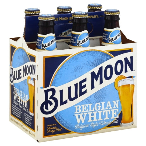 BLUE MOON BELGIAN WHITE 6 Pack