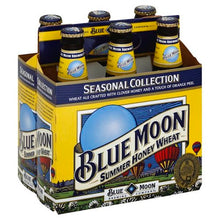 Load image into Gallery viewer, BLUE MOON SEASONAL BEER 6 Pack Cans