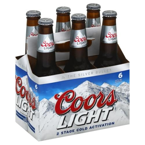 COORS LIGHT 6 Pack