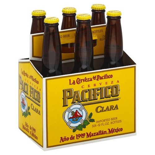 PACIFICO MEXICAN BEER 6 Pack