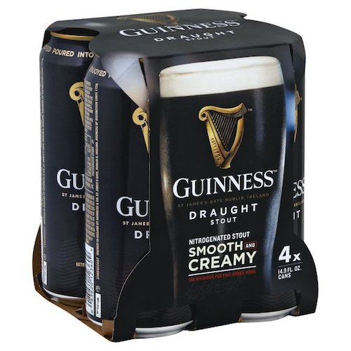 GUINNESS PUB DRAUGHT 4 Pack CAN