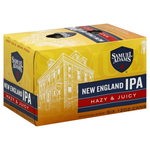 SAM ADAMS NEW ENGLAND IPA 6 Pack CANS