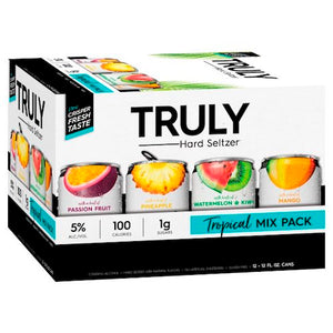 TRULY HARD TROPICAL VARIETY 12 Pack Cans