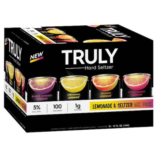 TRULY HARD LEMONADE MIX 12 Pack Cans