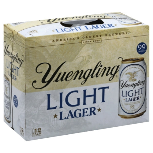 YUENGLING LIGHT LAGER 12PK CANS