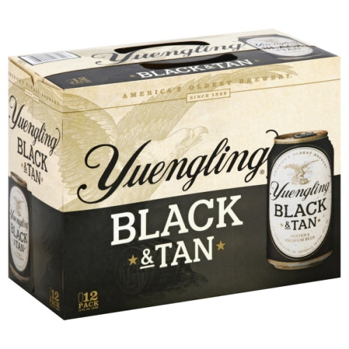 YUENGLING BLACK & TAN 12 Pack CANS