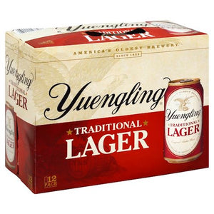 YUENGLING TRADITIONAL AMBER LAGER 12 Pack Cans