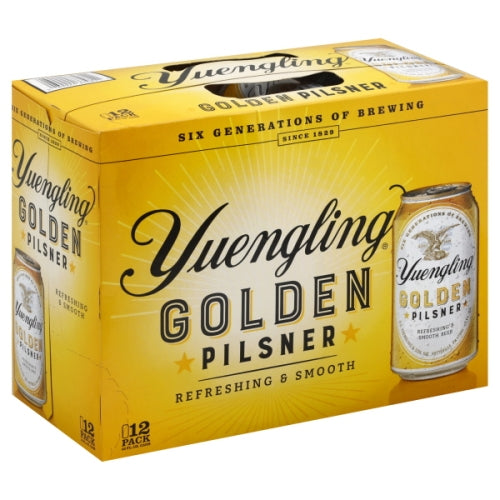 YUENGLING GOLDEN PILSNER 12 Pack CANS
