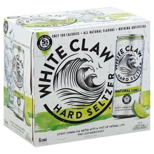 WHITE CLAW LIME SELTZER 6 Pack Cans