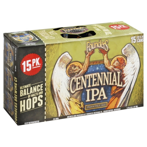 FOUNDERS CENTENNIAL IPA 15 Pack CANS