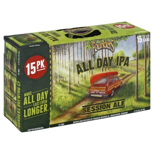 FOUNDERS ALL DAY IPA 15PK CANS