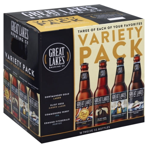GREAT LAKES VARIETY PACK 12PK