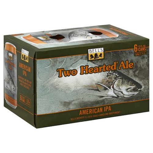 BELL'S TWO HEARTED ALE 6 Pack Cans