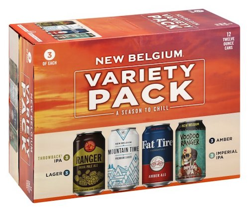 NEW BELGIUM VARIETY 12 Pack Cans