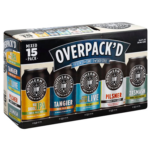 SOUTHERN TIER OVERPACKED 15 CANS