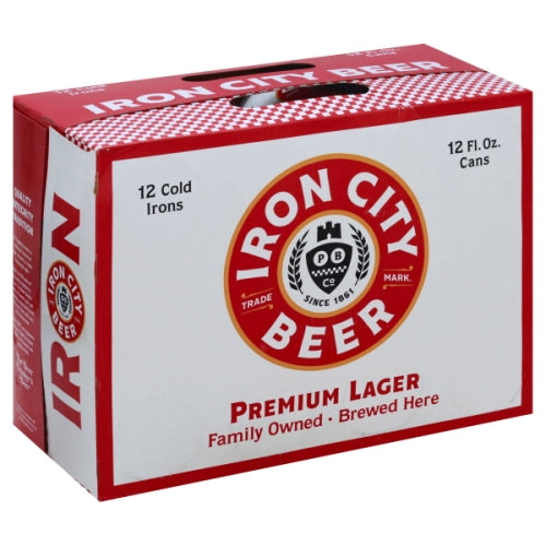 IRON CITY 12PK CANS