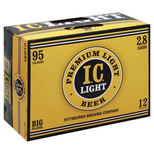 IRON CITY LIGHT 12PK CANS
