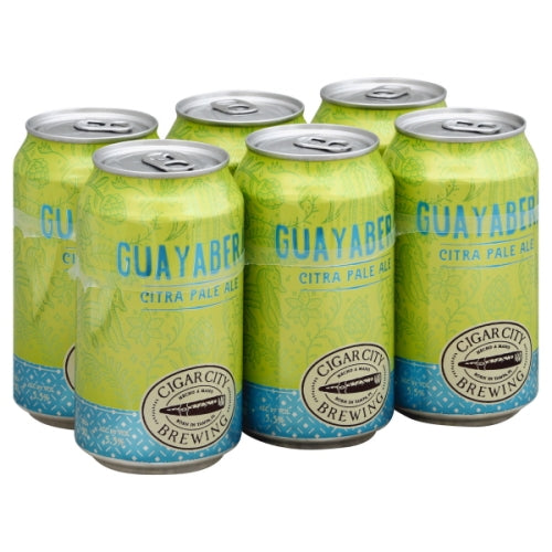 CIGAR CITY GUAYABERA 6PK CANS